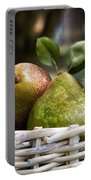 Basket Of Pears Portable Battery Charger