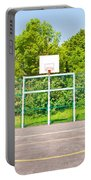 Basketball Court Portable Battery Charger by Tom Gowanlock