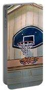 Basketball Hoop Sketchbook Project Down My Street Portable Battery Charger by Irina Sztukowski