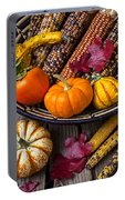 Basketful Of Autumn Portable Battery Charger