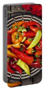 Basketful Of Peppers Portable Battery Charger