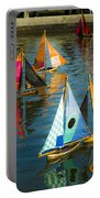 Bateaux Jouets Portable Battery Charger by Beth Riser