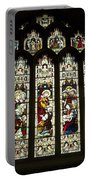 Bath Abbey Stained Glass Portable Battery Charger