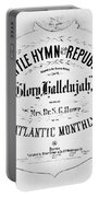 Battle Hymn Of Republic Portable Battery Charger
