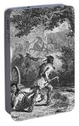 Battle Of Bloody Brook 1675 Portable Battery Charger
