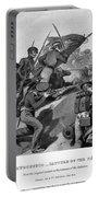 Battle Of Churubusco, 1847 Portable Battery Charger
