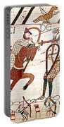 Battle Of Hastings Bayeux Tapestry Portable Battery Charger