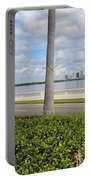 Bayshore Through Palms Portable Battery Charger