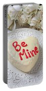 Be Mine Heart Cake Portable Battery Charger