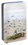 Beach Detail On Pacific Ocean Coast Of Canada Portable Battery Charger