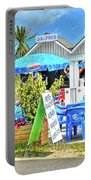 Beach Food Shack France Portable Battery Charger
