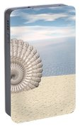 Beach Of Shells Portable Battery Charger