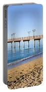 Beach Pier In Marbella Portable Battery Charger