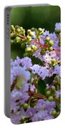 Beaded Lavender Lace Portable Battery Charger