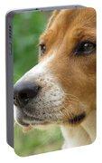Beagle Gaze Portable Battery Charger