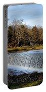 Bear Creek Lake Waterfall Portable Battery Charger