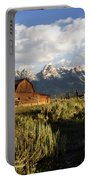 Beautiful Barn Grand Teton  Portable Battery Charger