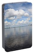 Beautiful Day In Tampa Portable Battery Charger