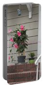 Beautiful Floral Entrance Portable Battery Charger