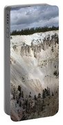 Beautiful Lighting On The Grand Canyon In Yellowstone Portable Battery Charger