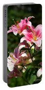 Beautiful Lilys Portable Battery Charger