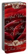 Beautiful Valentine Portable Battery Charger