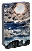 Beauty Of The Morning Sky Portable Battery Charger