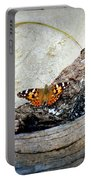 Beauty On The Beach Portable Battery Charger by Karen Wiles
