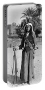 Bedouin Youth, C1926 Portable Battery Charger