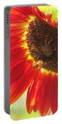 Bee On A Sunflower Portable Battery Charger