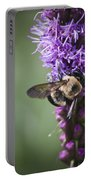 Bee On Gayfeather Squared 1 Portable Battery Charger