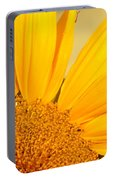 Bee On Sunflower Portable Battery Charger