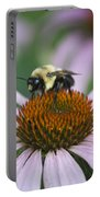 Bee Resting Squared Portable Battery Charger