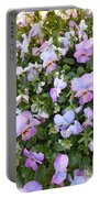 Begonias In Bloom Portable Battery Charger