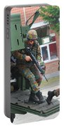 Belgian Infantry Soldiers Exit Portable Battery Charger