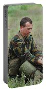 Belgian Paratroopers Red Berets Portable Battery Charger