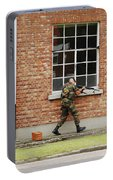 Belgian Soldiers On Patrol Portable Battery Charger
