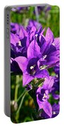Bell Flowers Portable Battery Charger