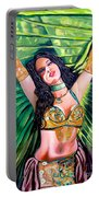 Belly Dancer Portable Battery Charger
