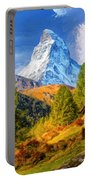 Below The Matterhorn Portable Battery Charger