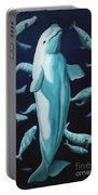 Beluga Whales  Portable Battery Charger