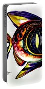 Benedict The Sixteenth Fish Portable Battery Charger