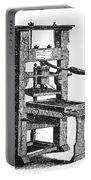 Benjamin Franklins Printing Press Portable Battery Charger