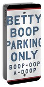 Betty Boop Parking Portable Battery Charger