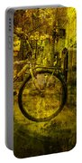 Bicyclist On The Move No. Ol4 Portable Battery Charger