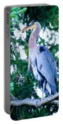 Big Bird - Great Blue Heron Portable Battery Charger