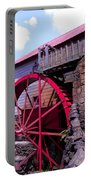 Big Red Wheel Portable Battery Charger