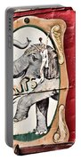 Big Top Elephants Portable Battery Charger