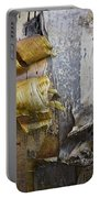 Birch Tree Bark No.0863 Portable Battery Charger