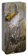 Birch Tree Bark No.0889 Portable Battery Charger